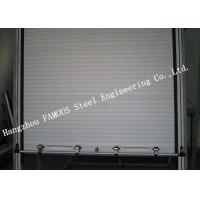 Wholesale Light Aluminum Doors Overhead Metal Roll Up Doors Low Noise Heat Insulation Type from china suppliers