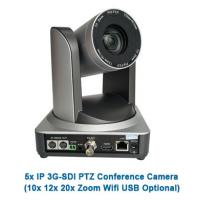 Silver Color 1080p60 30X Optical Zoom video conference POE IP SDI Camera ptz with 3G-SDI Interface