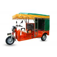 China 150CC Three Wheel Cargo Motorcycle / Electric Passenger Tricycle With Roof on sale