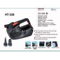Wholesale HT-338 Rechargeable Electric Air Pump In Camping & outdoor from china suppliers