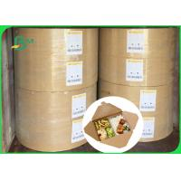 China 30gsm 40gsm FSC food grade one side coated white kraft paper in ream on sale