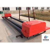 Wholesale Electric Switch Road Roller Machine , Triple Roller Tube Paver For Airport Roads from china suppliers