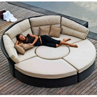 China Furniture Market Sourcing Agent Rattan Bed Sofa Purchasing Agent  including packing label and shipping on sale