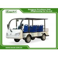 Wholesale EXCAR 8 Seater Electric Sightseeing Car , 72V 7.5KW Trojan Battery Tour Bus from china suppliers