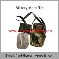 China Wholesale Cheap China Military Aluminum Stainless Steel Army Police Mess Kit on sale