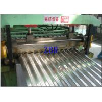 Wall Panel Glazed Tile Roll Forming Machine , Corrugated Sheet Making Machine