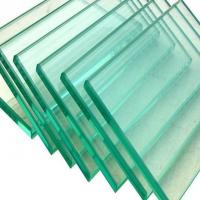 Wholesale Clear Tempered Toughened Laminated Glass Anti Splash Glass Hollow / Solid Structure from china suppliers