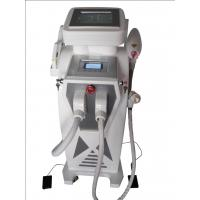 Wholesale 4 In 1 ND-YAG Laser IPL RF Double Screen For Shoulder , Hands Fat Removal from china suppliers