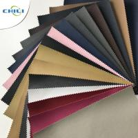 Wholesale Lightweight Plastic Leather Upholstery Fabric Special Edge Design Non Woven from china suppliers