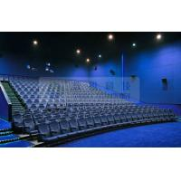 Wholesale Removable 3D theater seating system for 6 / 12 / 50 Persons , Attractive 4D 5D motion movies from china suppliers