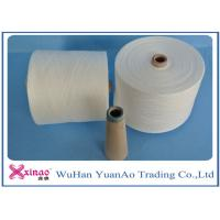 Wholesale Raw White Virgin 100 Polyester Yarn Z Twist Good Evenness for Sewing from china suppliers