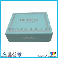 Wholesale Matt Oil Press Pantone Color Printing Paper Packaging Boxes with Silver Stamping from china suppliers