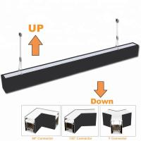 Wholesale 0 - 10V Dimming Suspended Linear Led Lighting Up - Down For Office from china suppliers