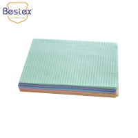 Wholesale Customized Apron Patient OEM 16gsm Disposable Dental Bib from china suppliers