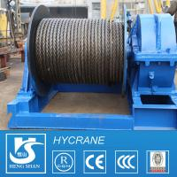 Mining Area Single/Double Drum Wire Rope Crane Electric Winch for sale