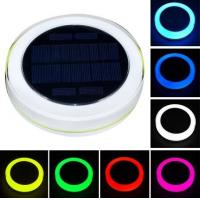 Buy cheap RGB Solar Powered Swimming Pool Lights,Garden Solar Powered LED Lights Outdoor from wholesalers