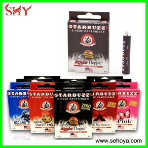 China Different taste Starbuzz e hookah e-hose cartridge/Square mini e hose e hookah cartomizer on sale