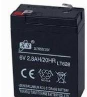 China Sealed Lead Acid Battery 6V2.8AH on sale