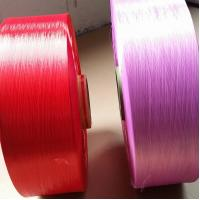 Wholesale 100% Nylon6 Dope Dyed Yarn 630D ,  FDY Industrial Yarn High Temperature Resistant from china suppliers
