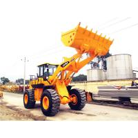 Wholesale Chinese heavy machinery 5 ton front end loader with optional joystick control and air-conditioner from china suppliers