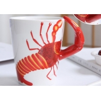 Wholesale Supermarket 450ml 15 Oz 9cmx11cm 3D Ceramic Mugs from china suppliers