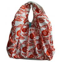 Wholesale Customized DYE Printing Round handle Lady shopping cotton bag leisure style from china suppliers