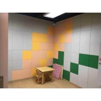 Wholesale Custom Reduce Noise Acoustic Polyester Acoustic Panels / Theater Polyester Fiber Board from china suppliers
