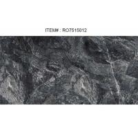 Wholesale 750 x 1500 x 10 MM Stone Ceramic TilesHoned Finish Black Color Porcelain Tile from china suppliers