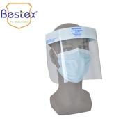 Wholesale Ear Loop Non Woven Thickness 0.25mm Disposable Face Shield from china suppliers