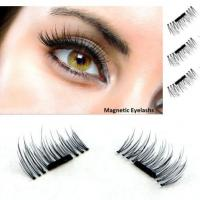 Wholesale 3D Magnetic False Eyelashes Natural Eye Lashes Extension Handmade 4 Pcs/1 pair from china suppliers
