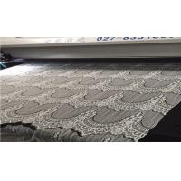 Wholesale 100% nylon lace Laser Cutting Machine for Knitted Lace Fabric Edges JHX-160100 S from china suppliers