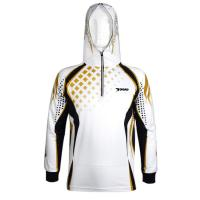 Wholesale Streetwear Custom Fishing Tournament Jerseys Breathable Knit Windproof from china suppliers