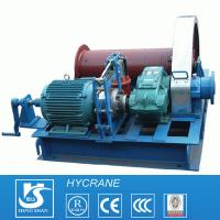 China Low Speed or High Speed Drum Wire Rope Crane Electric Winch for sale
