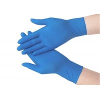 Buy cheap Multi Purpose Smooth Nitrile Disposable Protective Gloves from wholesalers