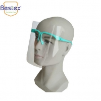 Buy cheap Anti Fog Safety Odorless ISO13485 16.6cm PPE Face Shields from wholesalers