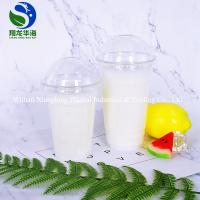 China Rolled Rim Disposable Drinking Cups Elegant PET Small Plastic Cups on sale