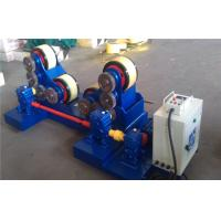 5T - 60T Pipe Welding self - aligning Rotator with rubber rollers , tank turning rolls