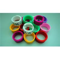 Wholesale Custom colorful silicone slap band with customized logo from china suppliers