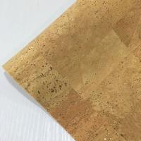 Buy cheap sheer Portugal eco-friendly Waterproof PU natural cork leather fabric for bags from wholesalers