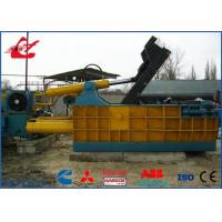 200 Tons Scrap Metal Baler Machine For Leftover Metals / Copper / Aluminum , Siemens Motor