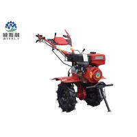 China Sturdy Small Flower Bed Tiller / Rear Tine Garden Tiller With 6L Fuel Tank Capacity on sale