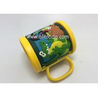 Wholesale Custom and supply plastic pvc mugs for aquarium travel agent company museum gift from china suppliers
