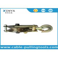 Wholesale 3T Single Wheel Wire Rope Pulley Block,Hoisting Pulley Block With One Side Open from china suppliers