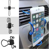 Buy cheap Iphone 8 Flexible Diy Cross Shaped Vehicle Cell Phone Holder With Expandable Stand And Grid from wholesalers