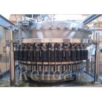 Buy cheap Automatic Beer Bottle Filler Machine With Washing / Filling / Capping Function from wholesalers