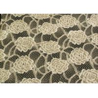 Wholesale Eco-Friendly Brushed Lace Fabric Yellow  from china suppliers
