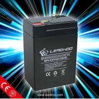 China UPS 6V 4Ah rechargeable lead acid battery NP4.0-6 on sale