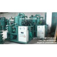 Wholesale Vacuum HV oil purifier | High voltage oil filtering machine | Insualtion Oil Processing from china suppliers