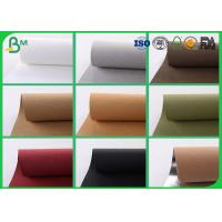 China Colorful Washable Kraft Paper Fabric , 150CM Reinforced Kraft Paper For Present Box on sale