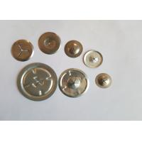China GI / SS Round Self Locking Washers For Insulation Pins and locking Anchors on sale